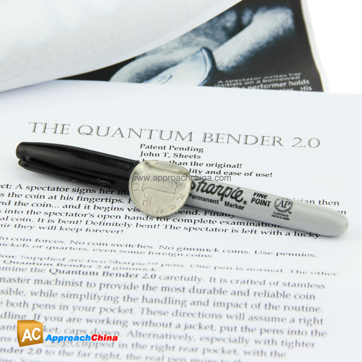 Quantum Bender 2 0 by John T  Sheets - $18 95 : ApproachChina Magic  Supplies, Lowest Price, Best Service! - Global Retail & Wholesale Magic  Source